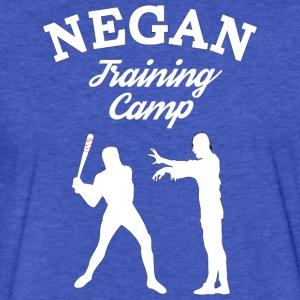 Negan Training Camp T Shirt - Fitted Cotton/Poly T-Shirt by Next Level