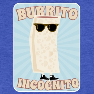 Burrito incognito - Fitted Cotton/Poly T-Shirt by Next Level