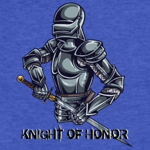 KNIGT OF HONOR 2 - Fitted Cotton/Poly T-Shirt by Next Level