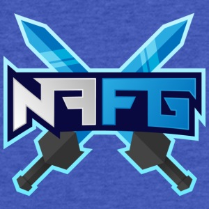 Full NotFarFromGaming Logo - Fitted Cotton/Poly T-Shirt by Next Level