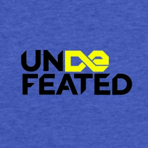 Undefeated (Jesus Fish) - Fitted Cotton/Poly T-Shirt by Next Level