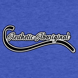 Aesthetic Aboriginal (Logo) - Fitted Cotton/Poly T-Shirt by Next Level