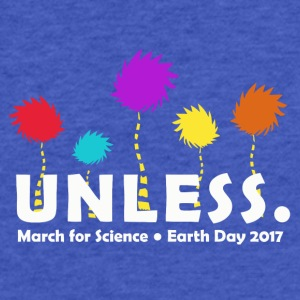 Unless march 2017 Science - Fitted Cotton/Poly T-Shirt by Next Level