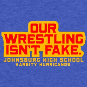 JOHNSBURG HIGH SCHOOL VARSITY HURRICANES - Fitted Cotton/Poly T-Shirt by Next Level