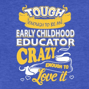 Early Childhood Educator Shirt - Fitted Cotton/Poly T-Shirt by Next Level