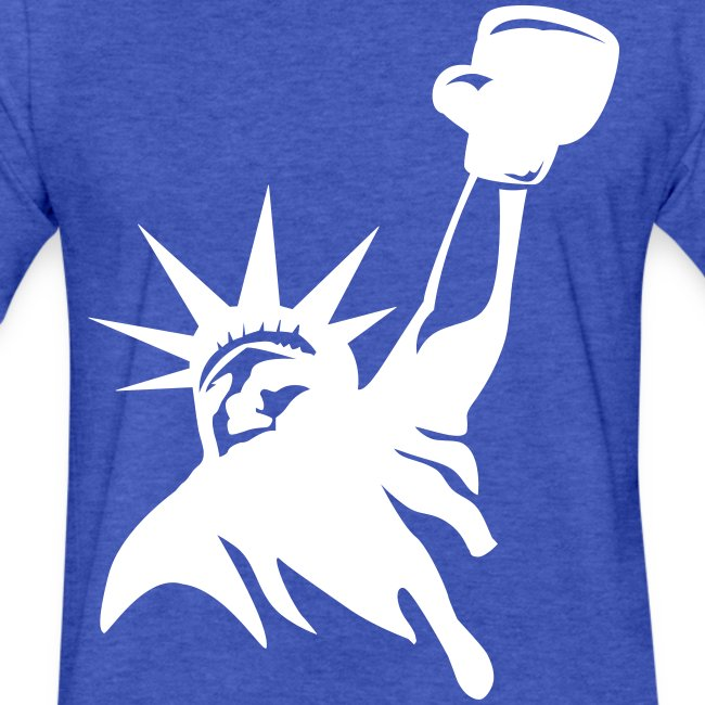 Lady Liberty t-shirt blac