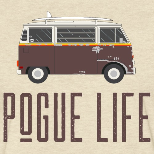 Pogue Life - Fitted Cotton/Poly T-Shirt by Next Level