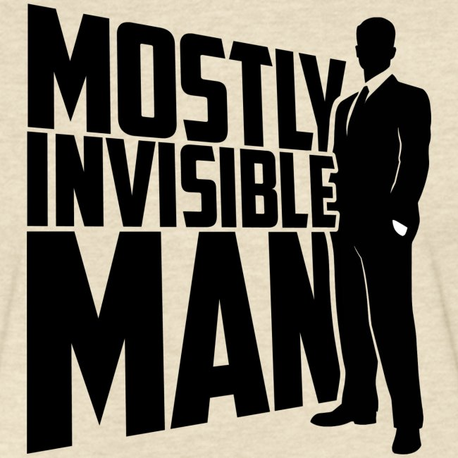 Mostly Invisible Man Logo