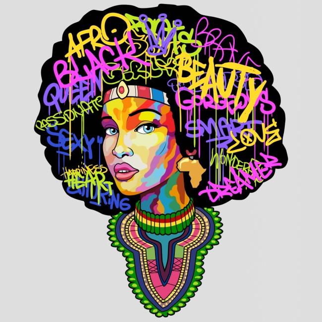 Afro Queen Dashiki