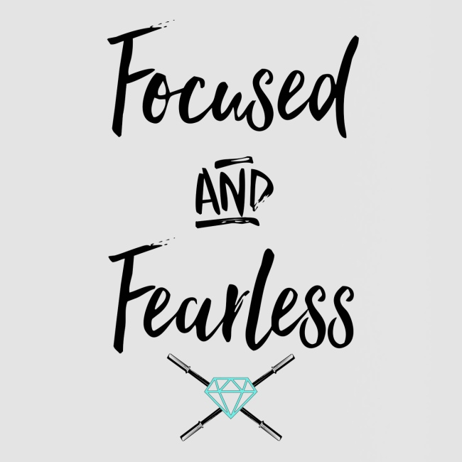 focused fearless (black)