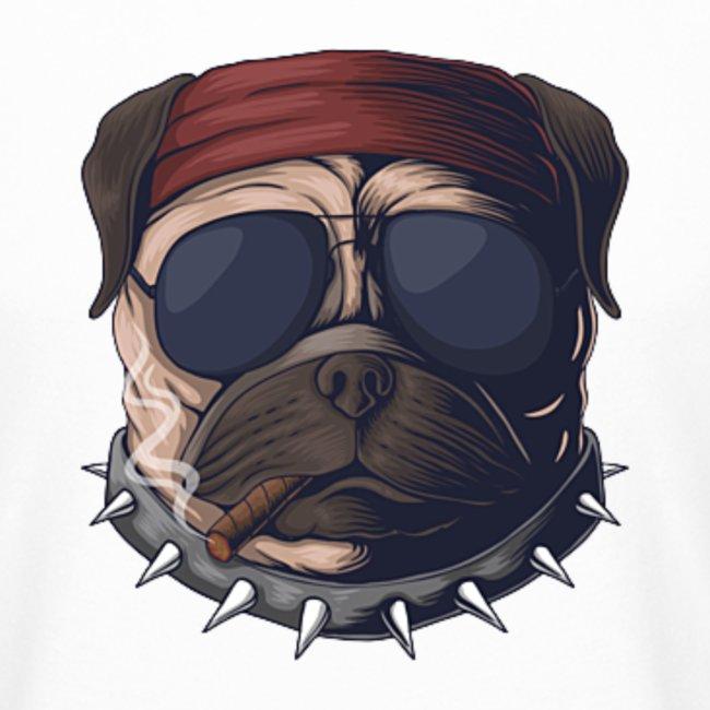 Dog head smoke