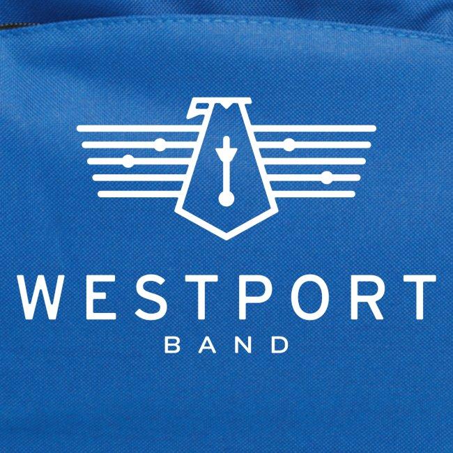 Westport Band White on transparent
