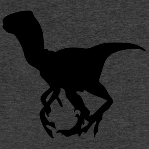 Dinosaur vector Silhouette - Sweatshirt Cinch Bag