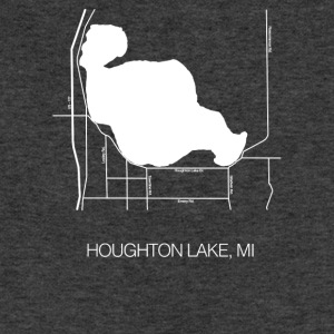 Houghton Lake, MI - Sweatshirt Cinch Bag