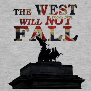 The West Will Not Fall! - Sweatshirt Cinch Bag