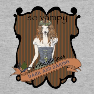 Female Vampire Dark Gothic Art T Shirt - Sweatshirt Cinch Bag
