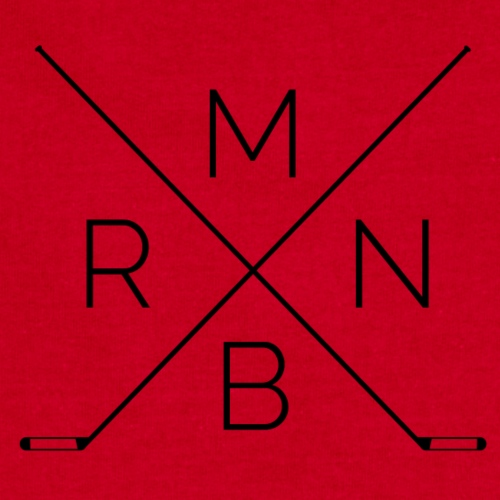 RMNB Crossed Sticks - Sweatshirt Cinch Bag