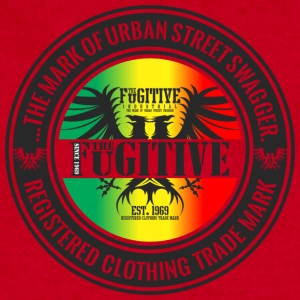 FUGITIVE 2423 RASTA GRADIENT - Sweatshirt Cinch Bag