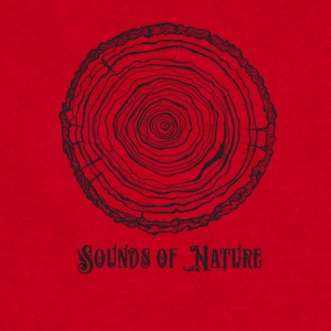 sounds of nature tee - Sweatshirt Cinch Bag