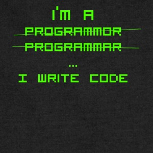 Programmer Gift - I write code- Shirt,Hoodie,Tank - Sweatshirt Cinch Bag