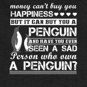 Penguin Happiness Shirt - Sweatshirt Cinch Bag