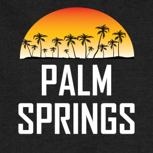 Palm Springs Sunset And Palm Trees Beach - Sweatshirt Cinch Bag