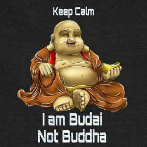 Keep Calm, I am Budai Not Buddha - Sweatshirt Cinch Bag