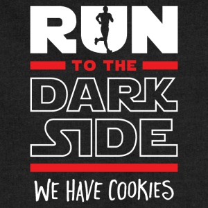 Run To The Dark Side, We Have Cookies - Sweatshirt Cinch Bag