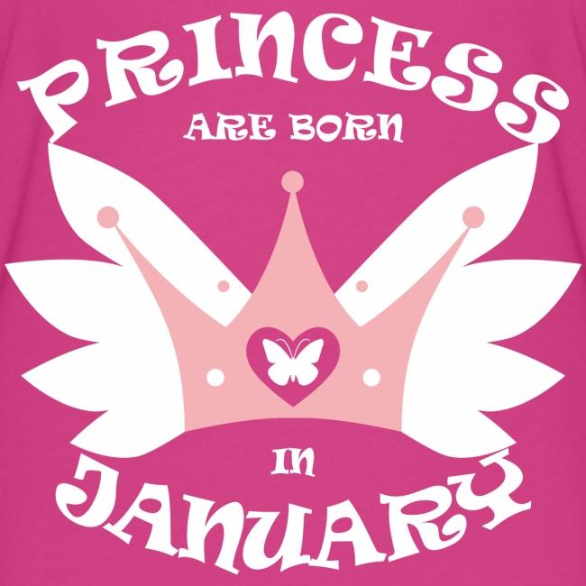 Princess Are Born In January
