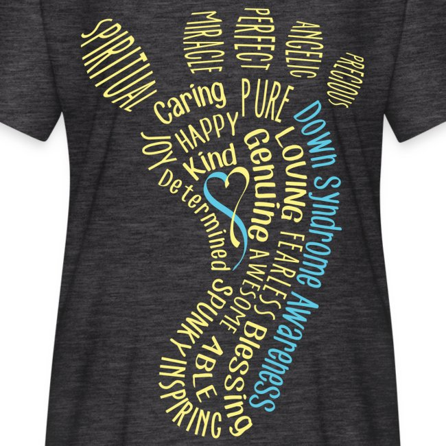 Down syndrome Foot Wordle