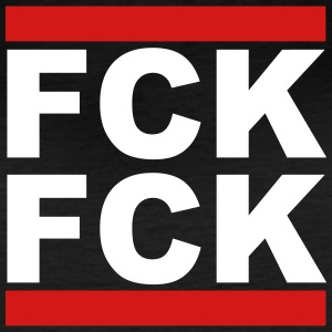 FCK FCK - give a fuck or fuck yourself - Women's Vintage Sport T-Shirt