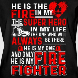 FIREFIGHTER MOM T SHIRT - Women's Vintage Sport T-Shirt