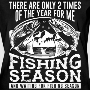 The Year For Me Fishing Season T Shirt - Women's Vintage Sport T-Shirt