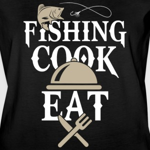 Fishing Cook Eat T Shirt - Women's Vintage Sport T-Shirt