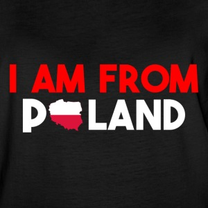 I am from POLAND - Women's Vintage Sport T-Shirt