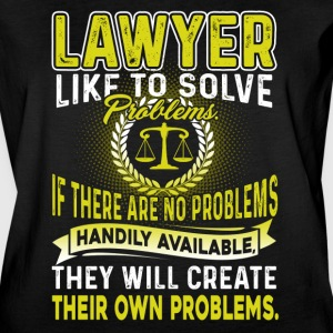 LAWYER LIKE TO SOLVE PROBLEMS T SHIRT - Women's Vintage Sport T-Shirt