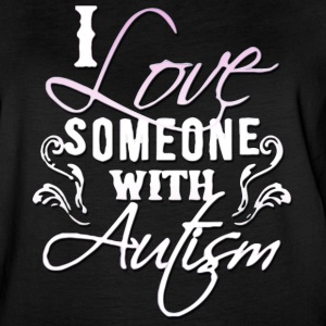 I Love Someone with Autism - Women's Vintage Sport T-Shirt