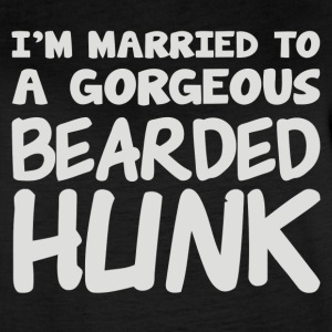Im Married To A Gorgeous Bearded Hunk - Women's Vintage Sport T-Shirt