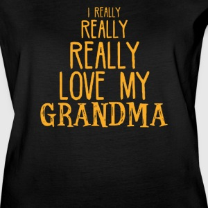 Really Really Love My Grandma - Women's Vintage Sport T-Shirt