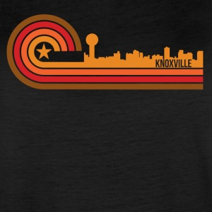 Retro Style Knoxville Tennessee Skyline - Women's Vintage Sport T-Shirt