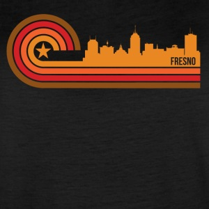 Retro Style Fresno California Skyline - Women's Vintage Sport T-Shirt