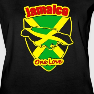 Jamaican Flag One Love - Women's Vintage Sport T-Shirt