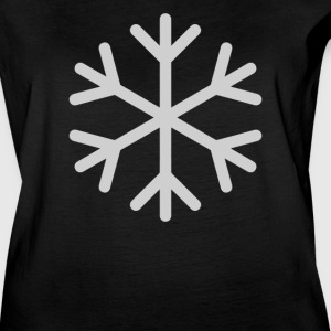 Snowflake Emoticon - Women's Vintage Sport T-Shirt