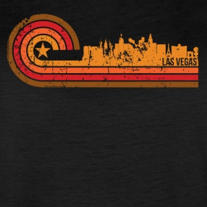 Retro Style Las Vegas Nevada Skyline Distressed - Women's Vintage Sport T-Shirt