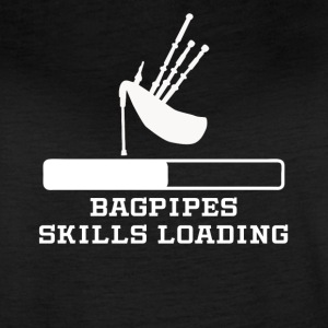 Bagpipes Skills Loading - Women's Vintage Sport T-Shirt