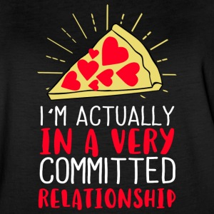 I´m actually in a very committed relationship - Women's Vintage Sport T-Shirt