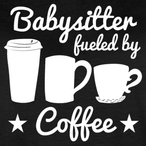Babysitter Fueled By Coffee - Women's Vintage Sport T-Shirt
