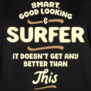 Smart, good looking and SURFER - Women's Vintage Sport T-Shirt