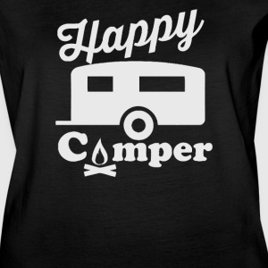 Happy Camper - Women's Vintage Sport T-Shirt