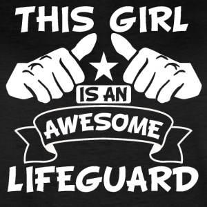 This Girl Is An Awesome Lifeguard - Women's Vintage Sport T-Shirt